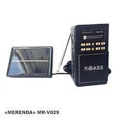 """Радиоприемник c USB/SD и солнечной батареей. """"MERENDA"""" MB-V029S"""