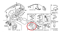 Nissan Leaf Антена ключа