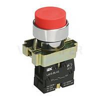 Кнопка управления LAY5-BL42 без подсветки красная 1р IEK
