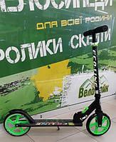 Самокат REDFORD Eco Line 200х200 до 80кг зелений AS120609  Amigo sport