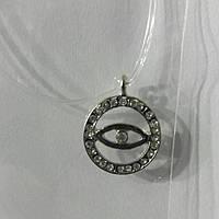 331 Женский кулон оберег (глаз) на леске с замком, подвески оптом