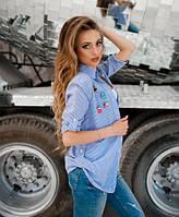 Комплект рубашка со значками и майкой