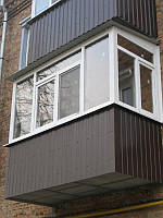 Остекление балкона, лоджий