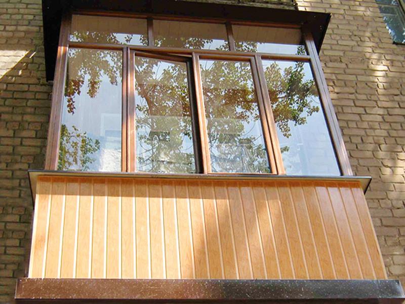 Остекление балкона, лоджия
