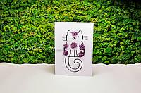 Креативная открытка со мхом от Студии Зеленка