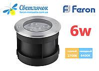 Тротуарный светильник Feron 6w SP4112