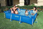 Прямоугольный каркасный бассейн Intex 260см-160см-65см