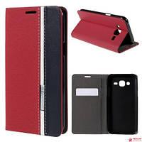Чехол Книжка Для Samsung Galaxy J5 J500 (ZJLWSQ) Красный