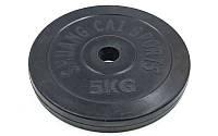 Блины (диски) обрезиненные d-30мм TA-1443-5S