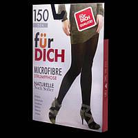 Колготки женские 150 den MICROFIBRE für DICH черный 3