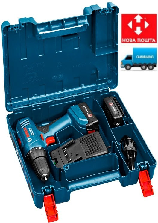 ✅ Аккумуляторная дрель-шуруповерт-шуруповерт Bosch GSR 1440-Li