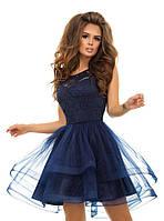 8440c9c8e58 Шикарное платье верх гипюр низ пышная фатиновая юбка