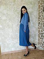 Платье длинное для кормления 1213-1
