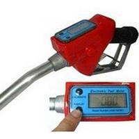 Топливораздаточный кран, 75 л/мин, с электронным счетчиком