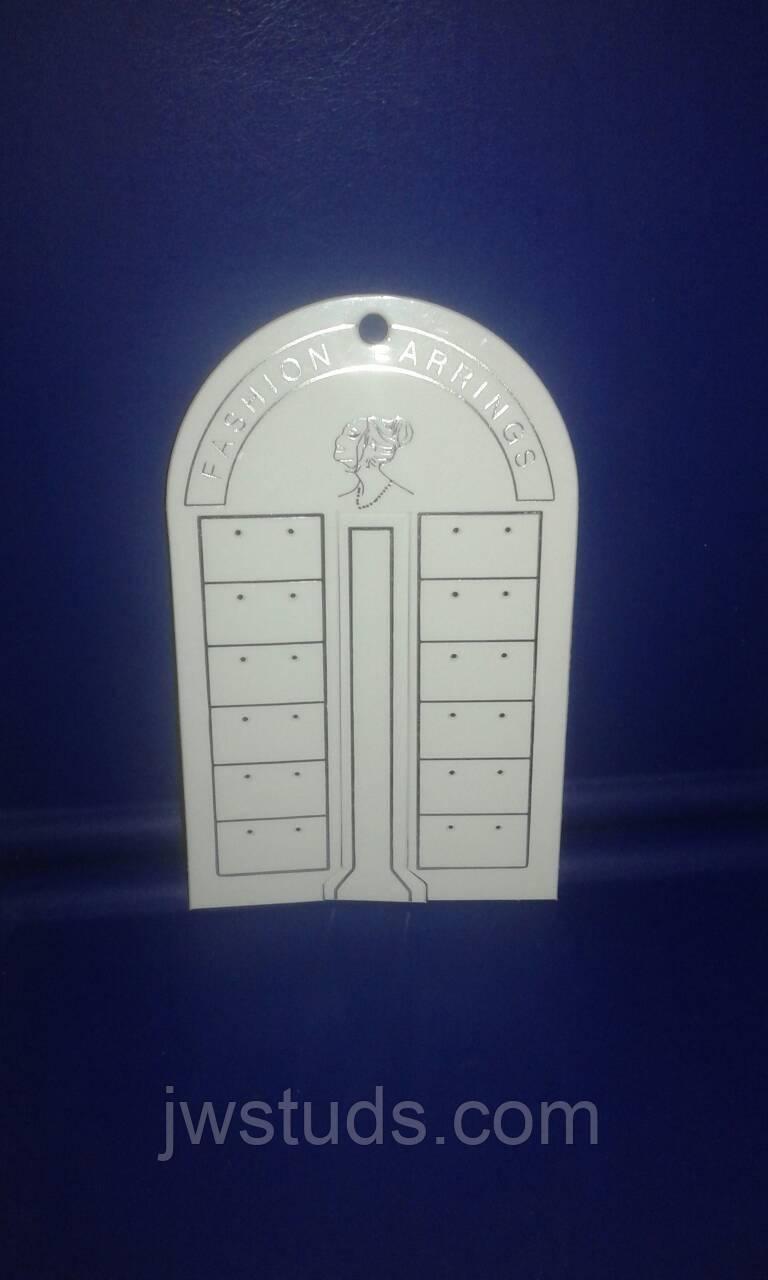 Акриловая подставка для серег (торговое оборудование БУ)
