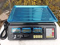 Весы торговые электронные CRYSTAL - 50 кг