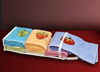ТМ TAG Набор кухонных полотенец Frukty