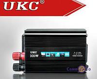 Інвертор автомобільний Inverter UKC SSK 300W, 1001869