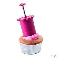 Плунжер-бур для капкейков, кексів, мафінів Cupcake Plunger, 1001933, 0
