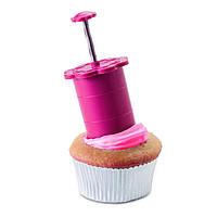 Плунжер вытеснитель 1001933, Плунжер-бур, Cupcake Plunger, Плунжер-бур для капкейков Cupcake Plunger, Плунжер-бур для кексов Cupcake Plunger,