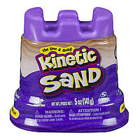 Кинетический песок Мини-крепость, фиолетовый, 141 г, Kinetic Sand & Kinetic Rock (71419P)