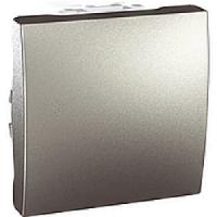 Выключатель кнопочный, алюминий - Schneider Electric Unica (Код: MGU3.206.30)