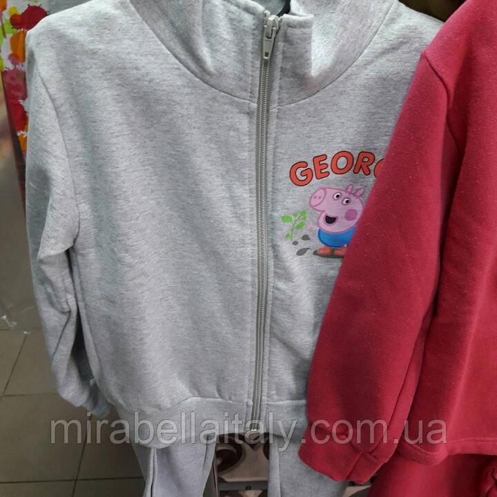 Трикотажный спортивный костюм Peppa для девочки
