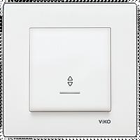 Выключатель проходной с подсветкой VIKO Karre Белый 90960063