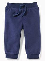 Флисовые синие штанишки Old Navy для мальчика