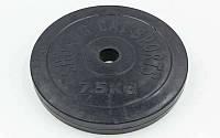 Блины (диски) обрезиненные d-30мм TA-1444-7,5S