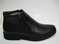 Мужские кожаные кожаные сапоги TM Kepper