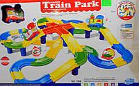 Трек с поездом (75 деталей) 1308