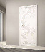 Стеклокаркасные межкомнатные двери со стеклом и зеркалом