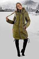 Зимняя куртка Лиана (хаки)