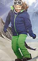 Детский лыжный костюм комплект куртка штаны рост 128