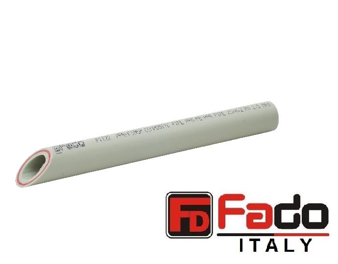 Труба ППР FADO армированная стекловолокном PN 20 32х5.4 мм