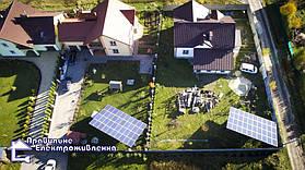 Сонячні електростанції 10 кВт - 2 шт. в с. Зубра 2