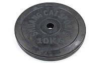 Блины (диски) обрезиненные d-30мм TA-1445-10S