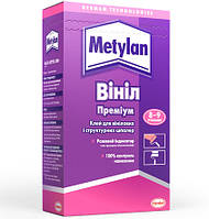 Клей для обоев Metylan Винил Премиум 300 г 8-9 рулонов