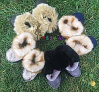 Пинетки-валенки детские меховые , фото 1