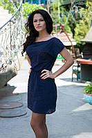 Женское летнее платье мини на одно плечо, фото 1