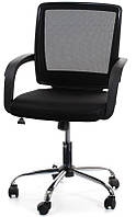 Кресло офисное для персонала VISANO, Black - Chrome