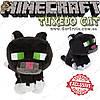 """Игрушка Черный кот из Minecraft - """"Tuxedo Cat"""" - 19 х 15 см"""