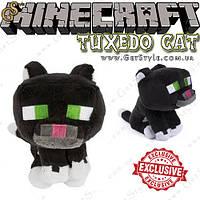 """Игрушка Черный кот из Minecraft - """"Tuxedo Cat"""" - 19 х 15 см, фото 1"""
