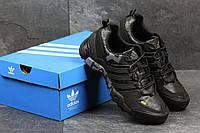 Adidas  Terrex 380 черные с серым