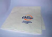 Бумажные салфетки с логотипом от 500 шт.