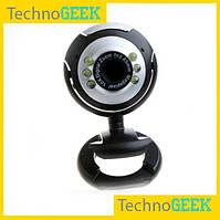 Web-камера с микрофоном 6 светодиодов #036