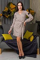 Теплое платье с 46 по 52 размер 5 цветов