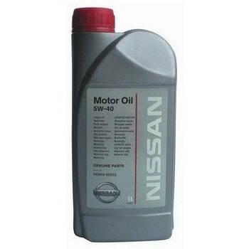 Моторное масло NISSAN Motor Oil 5W-40 1л (KE900-90032)