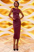 Женское платье Розетти марсала Jadone  42-48 размеры